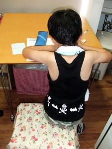『タラちゃん宿題をする』の巻