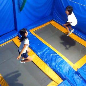夏休み☀小学生も楽しくトランポリン