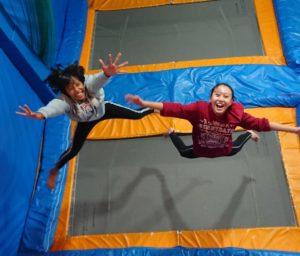◆二人で大ジャンプ◆
