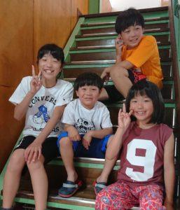 ◆四人のキッズモデル◆