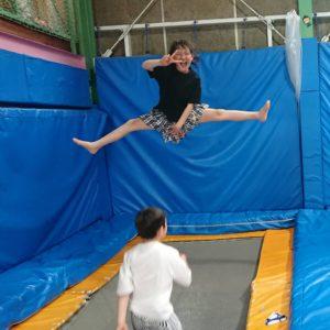 ◆開脚ジャンプ◆